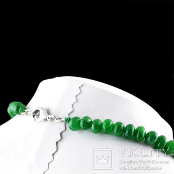 Ожерелье из натуральных изумрудов 700 карат, фото №4