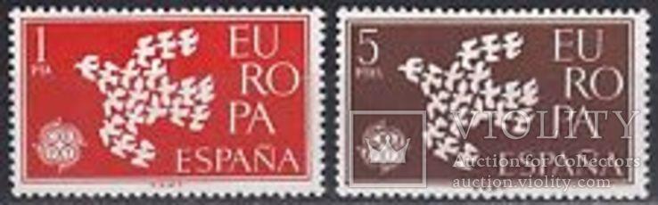 Испания 1961 Европа СЕПТ