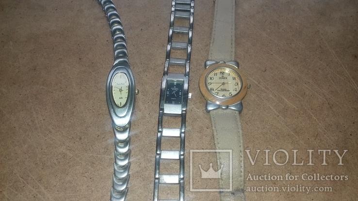 Часы женские кварцевые 3 штуки., фото №2