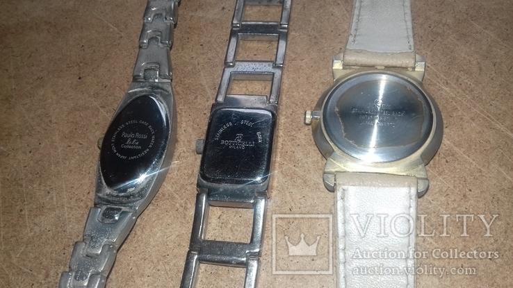 Часы женские кварцевые 3 штуки., фото №5