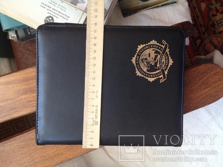 Блокнот папка тетрадь Международная полицейская академия США Будапешт, фото №3