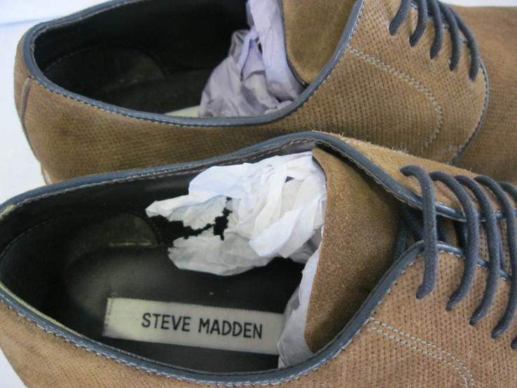 Кожаные туфли Steve Madden 41 р., фото №7