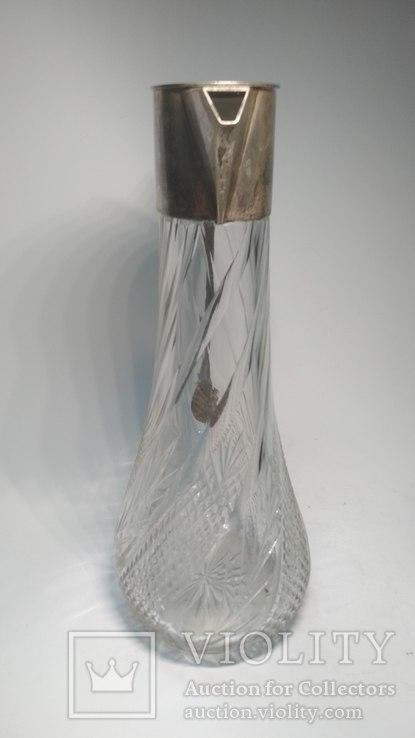 Старинный хрустальный графин, фото №11