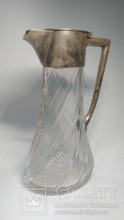Старинный хрустальный графин, фото №12