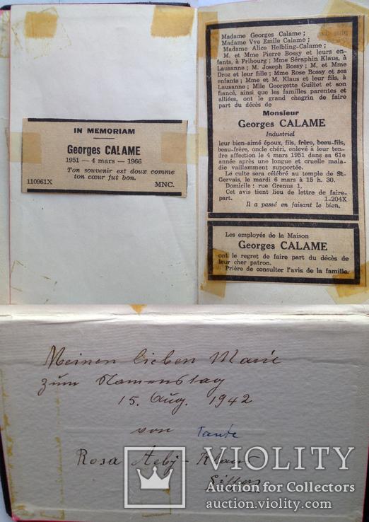 Библия молитвенник Das Sarner Jesuskind 1940, фото №5