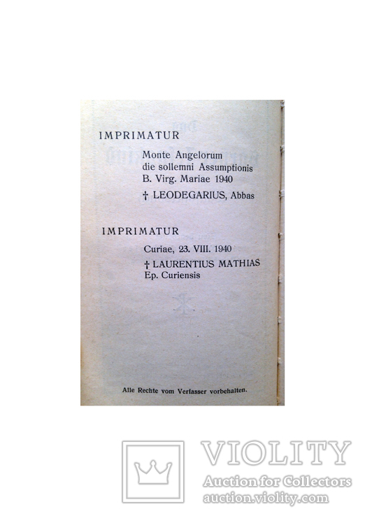 Библия молитвенник Das Sarner Jesuskind 1940, фото №7