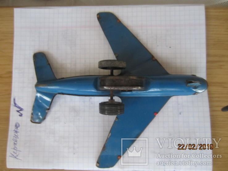 Самолет винтаж игрушка жесть  cccp, фото №8