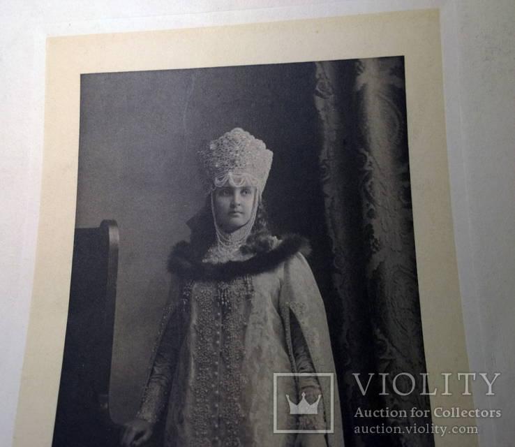1903 знаменитый Костюмированный бал в историч. костюмах 10-bis фототипия, фото №11