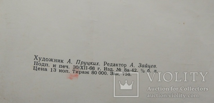 """Школьный портрет """"Гоголь Н.В"""", 59*45.5мм, фото №3"""