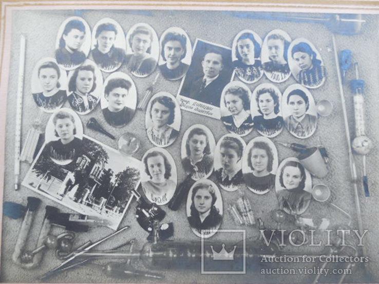 1950 альбом Выпуск врачей Кубанского ГМИ Федяев А.М. врач-хирург подполковник СА вч 29242, фото №11