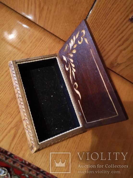 Шкатулка дерево сувенир, фото №4