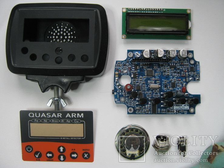 Набор для изготовления металлодетектора QUSAR ARM FM