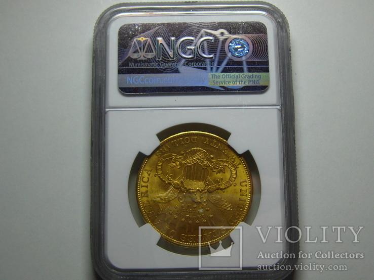 США 20 долларов 1904 г. NGC MS63+, фото №3