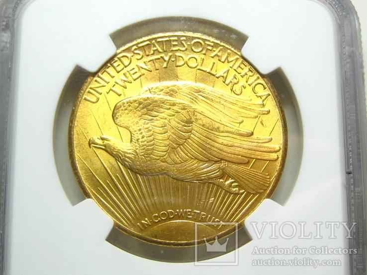 США 20 долларов 1927 г. NGC MS63+, фото №5