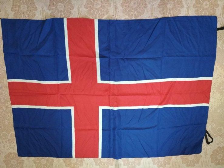 11. Флаг Исландия 94х132 см, новый, фото №2