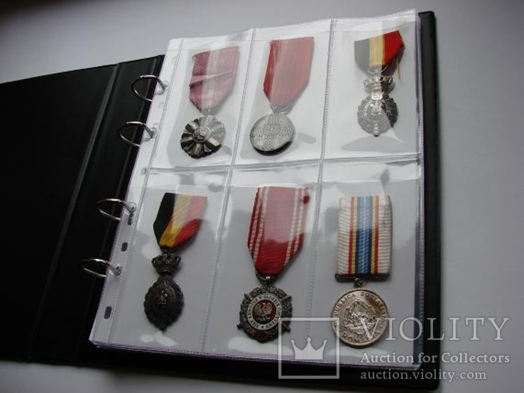 Альбом для наград + 50 кармашков для медалей, фото №2