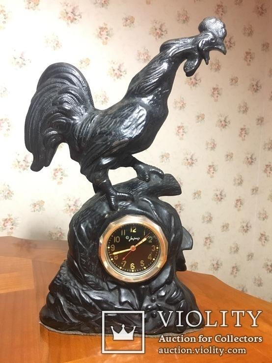 Часы каминные подчасник Петух. Куса.