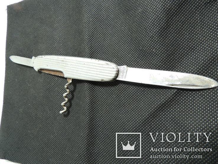 Перочинный нож двойной штопор Австрия вермахт HAPO rostfrei, фото №8