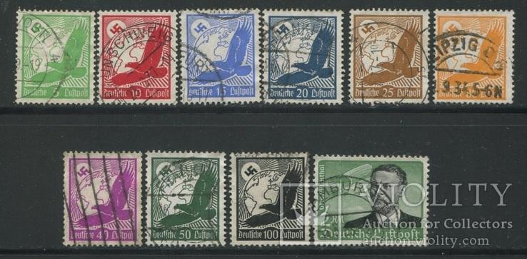 1934 Рейх авиапочта кондоры + Отто Лилиенталь