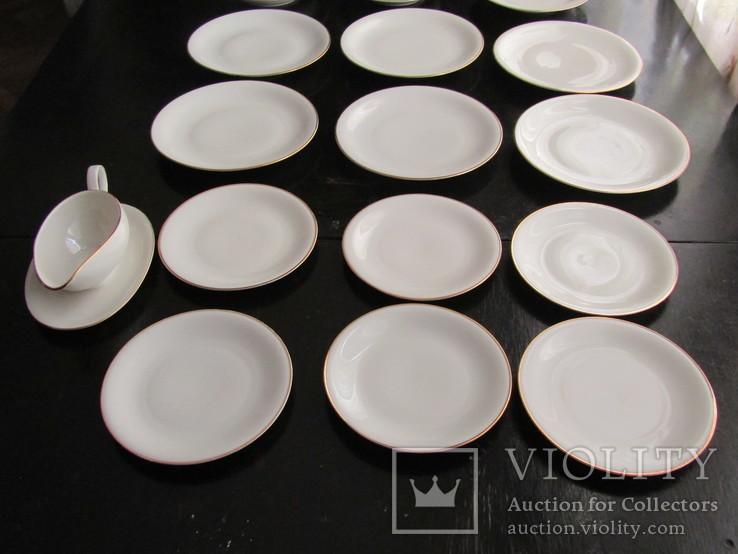 Антикварный сервиз тарелки блюда соусник фарфор Winterling in Röslau 1907-1950 Германия, фото №6