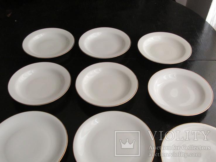 Антикварный сервиз тарелки блюда соусник фарфор Winterling in Röslau 1907-1950 Германия, фото №8