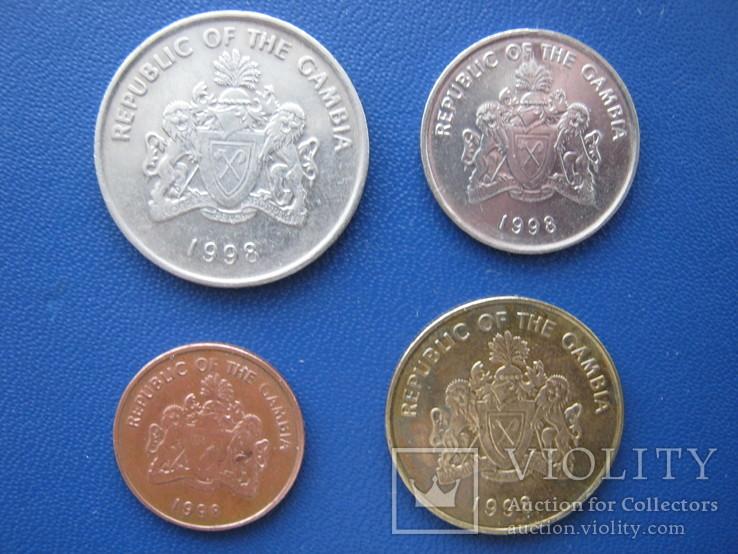 5 ,10 , 25 , 50 бутутов Гамбии 1998 г., фото №3