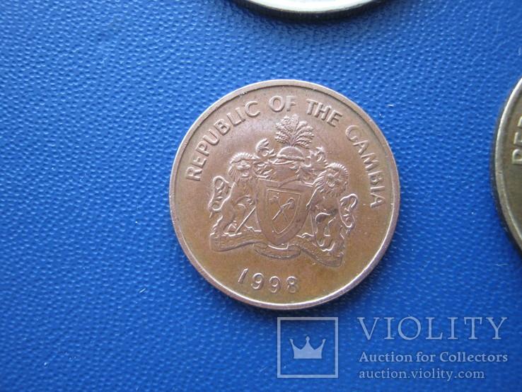 5 ,10 , 25 , 50 бутутов Гамбии 1998 г., фото №12