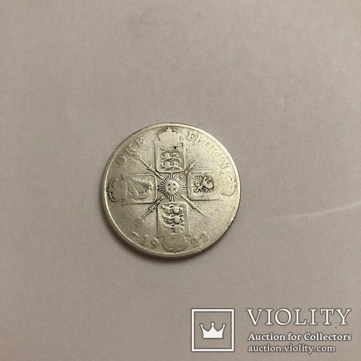 1 Флорін 1922р. Срібло., фото №3