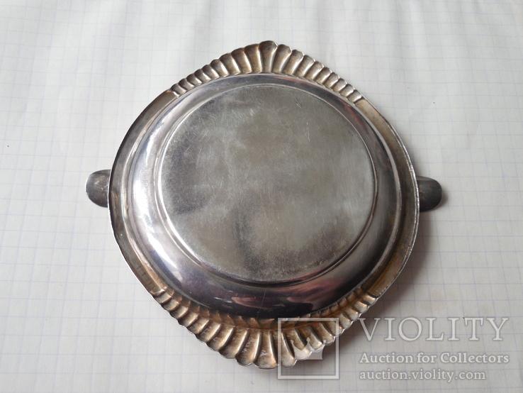 Пепельница серебряная, фото №6