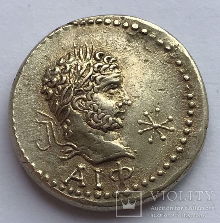Статер 215г. н.э. Рискупорид III