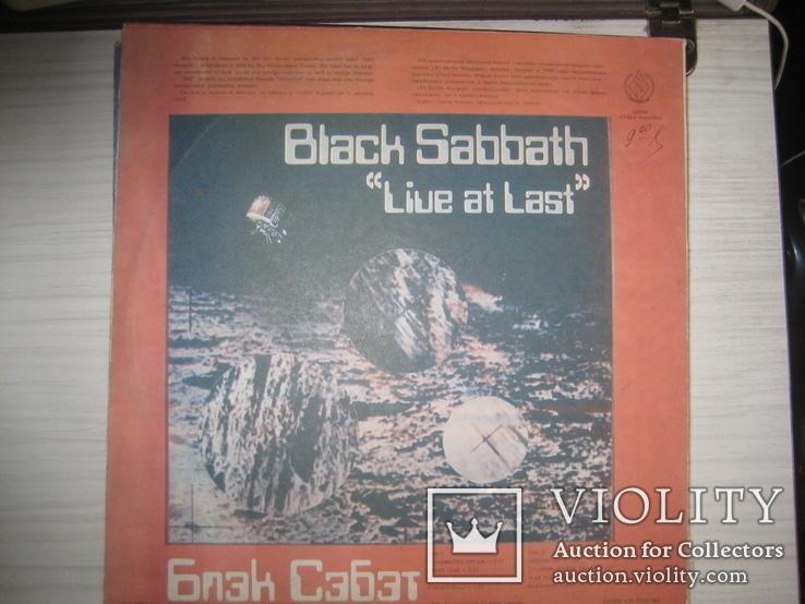 Black Sabbath- 6 LP, фото №3