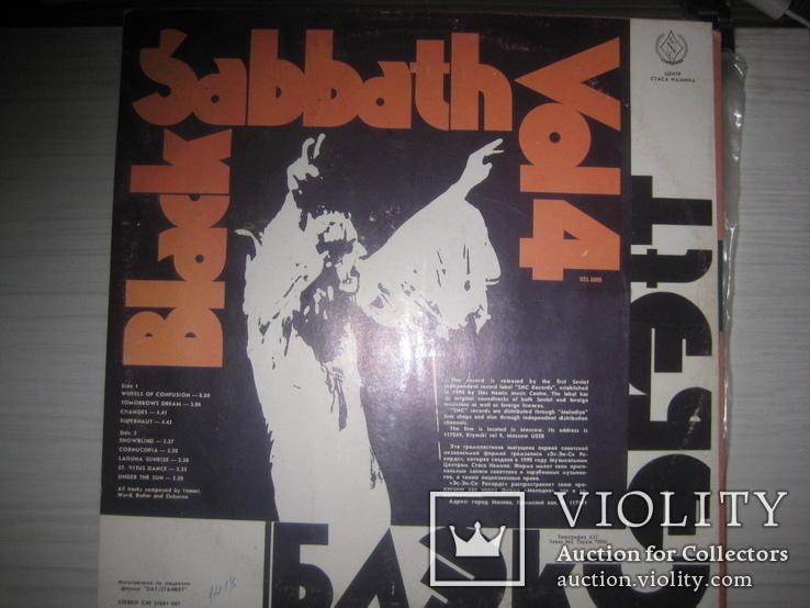 Black Sabbath- 6 LP, фото №4