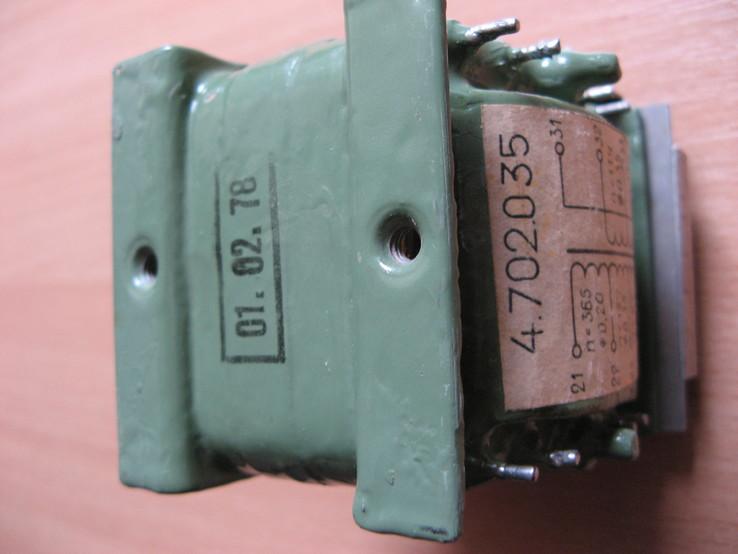 Трансформатор 4.702.035, фото №7