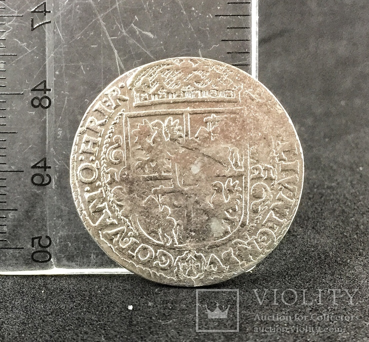 Орт Сигизмунда III Ваза 1621 год, фото №3