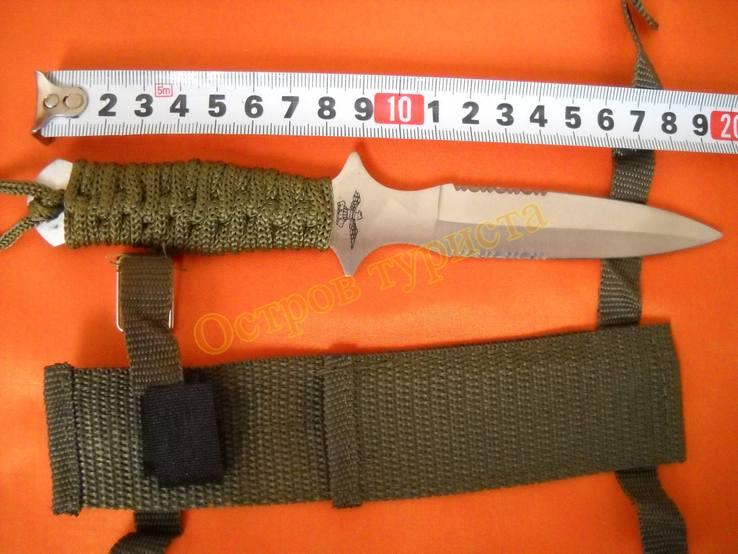 Нож метательный А2 с ножнами, фото №4