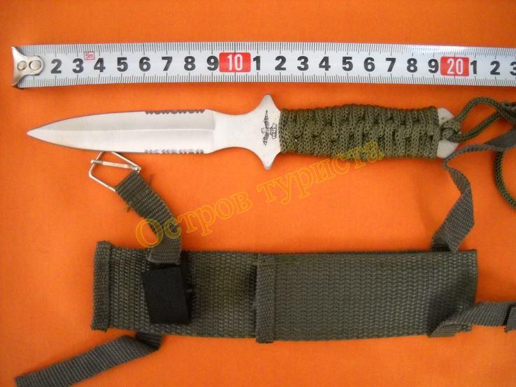 Нож метательный А2 с ножнами, фото №5