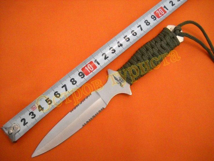 Нож метательный А2 с ножнами, фото №6