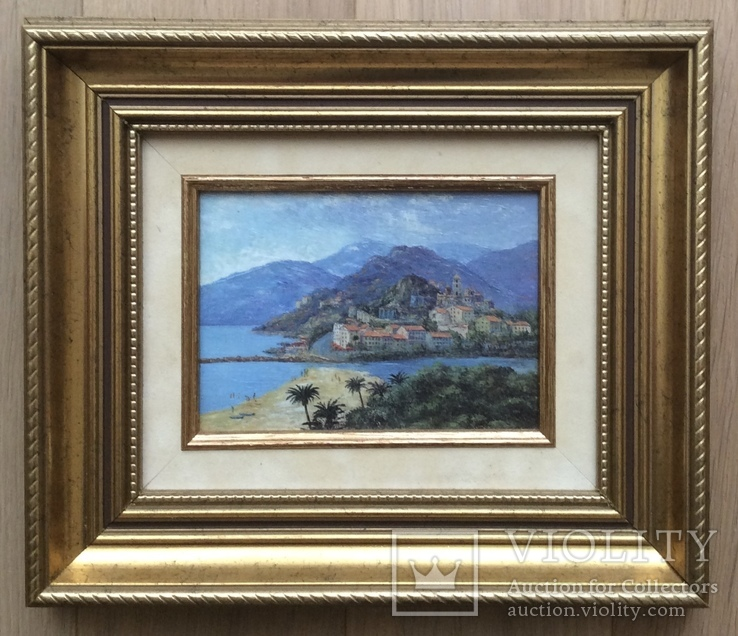 Картина французского художника 50-70 гг. ХХ века
