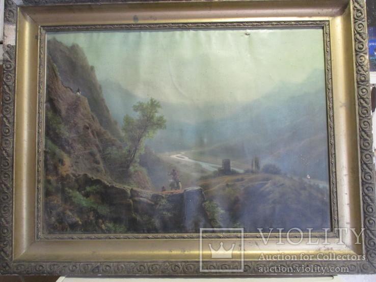 В горах.художник Лагорио, фото №3