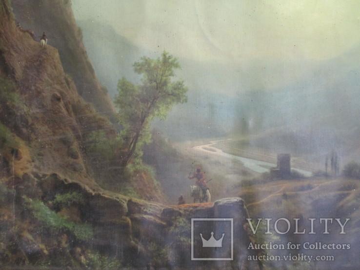 В горах.художник Лагорио, фото №8