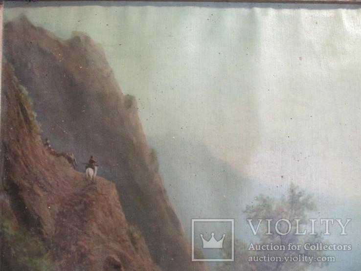В горах.художник Лагорио, фото №11