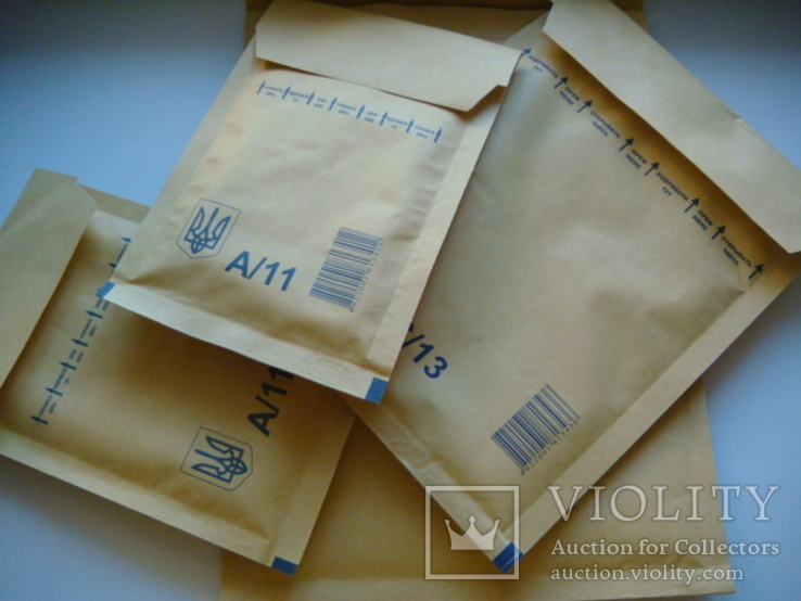 Конверты украинские Экстра А11,B12,C13,D14 по 30 шт, фото №2