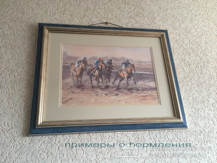 "Картина ""Наездник"". Микитенко Виктор, фото №4"