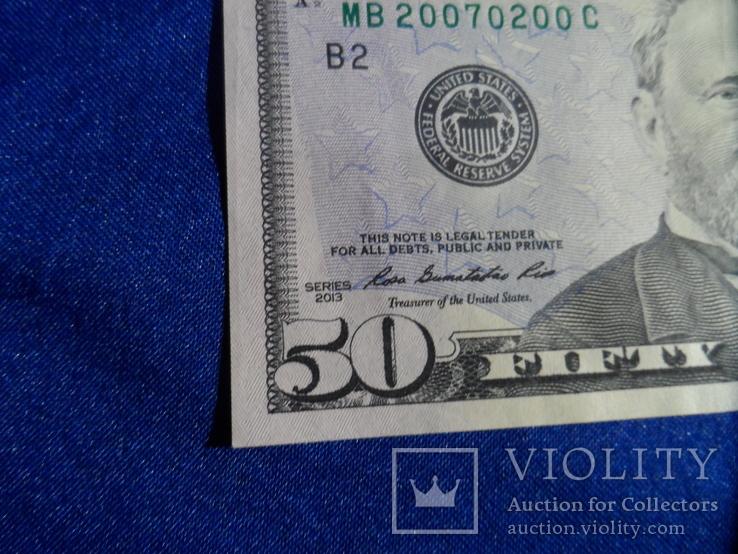 50 долларов США номер 20070200, фото №13