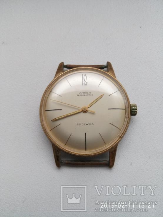 Часы Anker,позолота