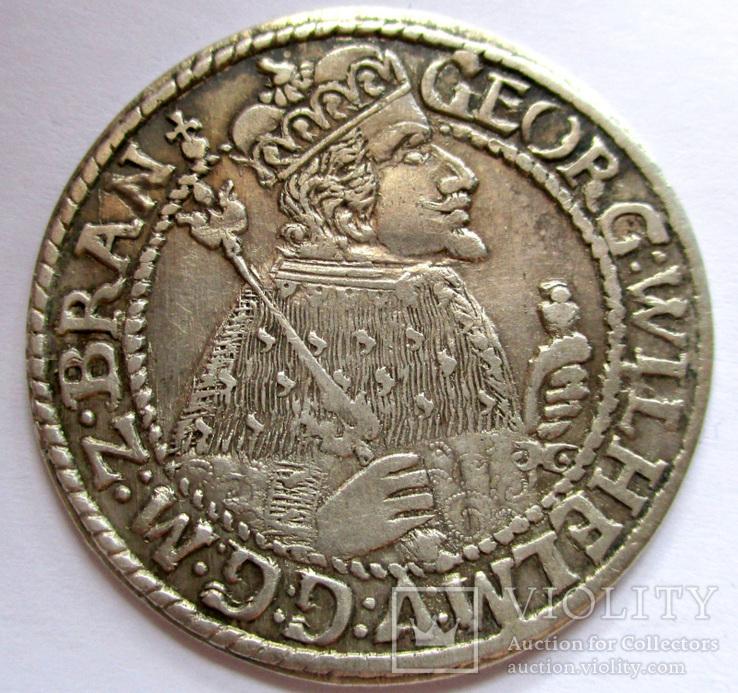 Орт 1624 года aUNC