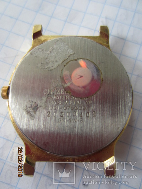 Citizen Watch Co. quartz gn-4w-s, фото №7