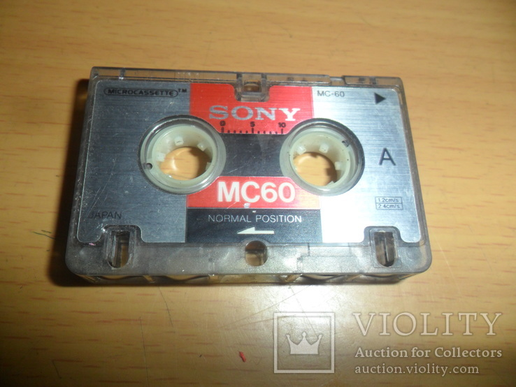Микрокассета Sony MC-60 Japan, фото №2