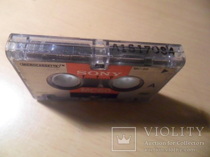 Микрокассета Sony MC-60 Japan, фото №5