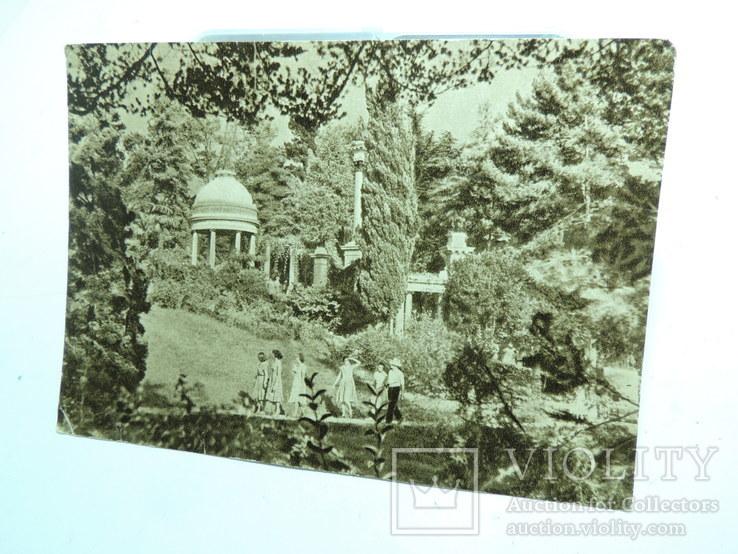 Фото открытки 5шт Сочи Крым Ласточкино гнездо девушки 1950е годы, фото №5